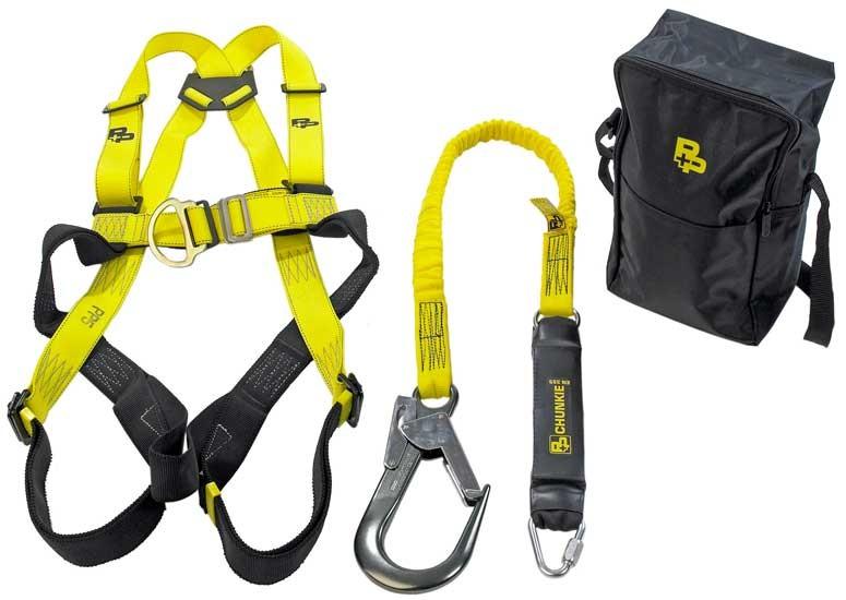 deluxekit p p fall arrest harness & lanyard kit deluxe kit