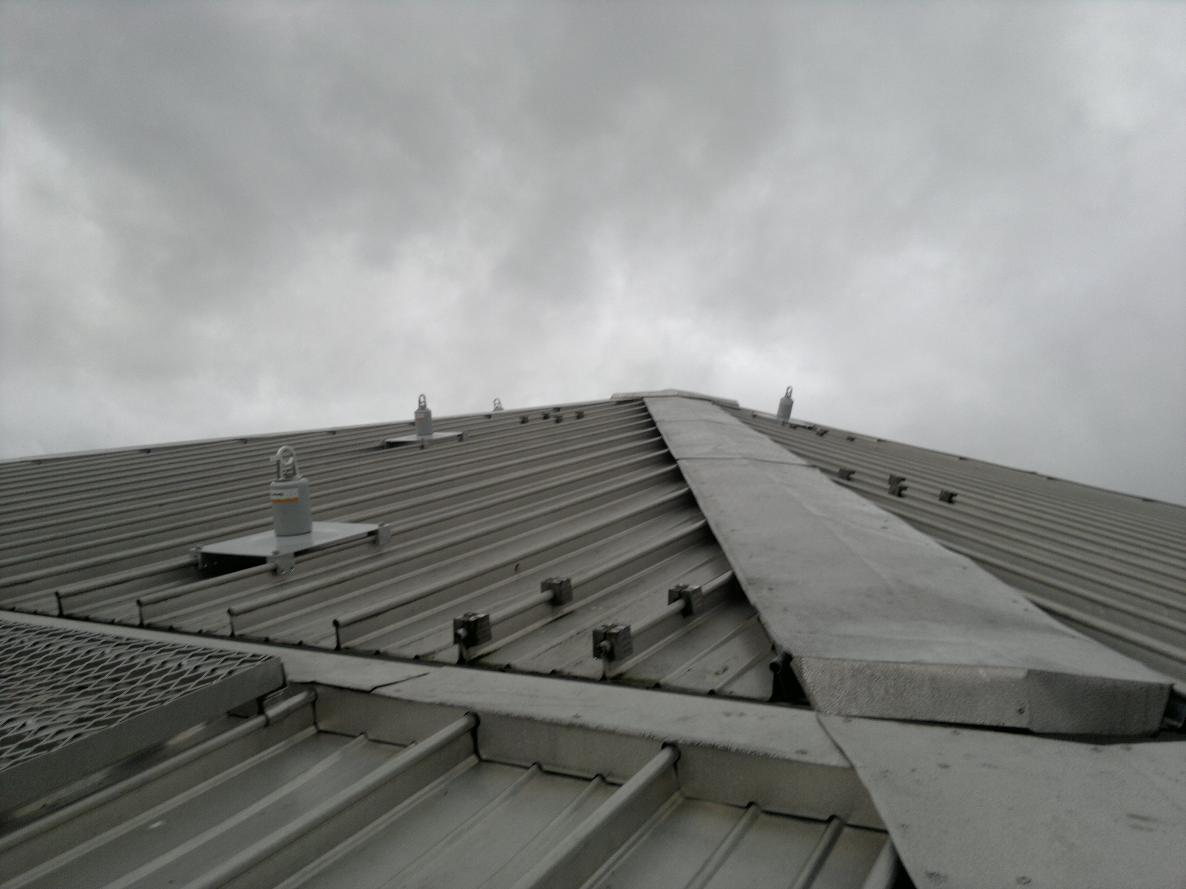 ... Spiratech Anchor   These Anchors Can Be Top Fixed To Various Roof Types  Including Standing Seam
